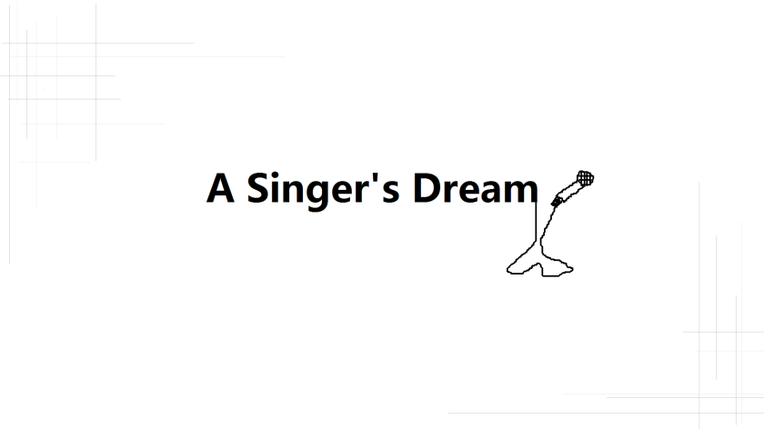 a singer's dream cover
